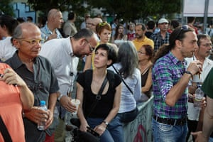 Andy Hall Athens: Affluent Greeks support the centre-right neo-liberal party 'Recreate Greece