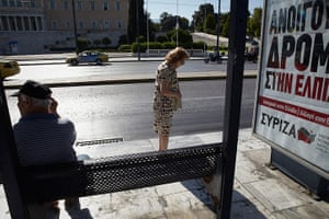 Andy Hall Athens:  Athens is experiencing a glut of political posters