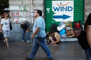 Andy Hall Athens: Downtown Athens is experiencing the effects of austerity