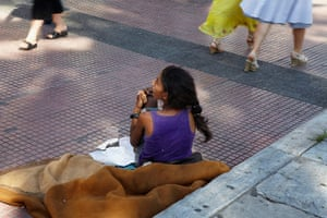 Andy Hall Athens: Downtown Athens is experiencing an influx of refugees from Syria