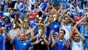 Group A: Greek fans