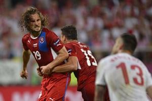 Group A2: Czech midfielder Petr Jiracek