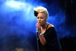 Lovebox: Emeli Sande on stage at Lovebox, day two