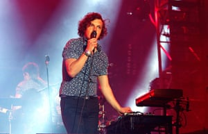 Lovebox: Ed Macfarlane of Friendly Fire performs on day two of Lovebox