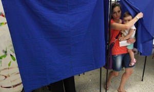 Greek voter