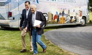 Mitt Romney and Bob Schieffer Face the Nation