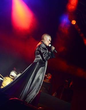 Lovebox day 3: Grace Jones performs on day three of Lovebox