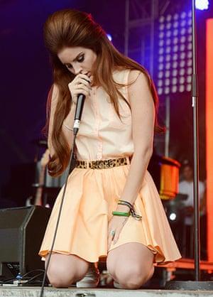 Lovebox day 3: Lana Del Rey on day three of Lovebox
