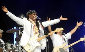 Lovebox day three: Nile Rodgers performs with Chic on day three of Lovebox