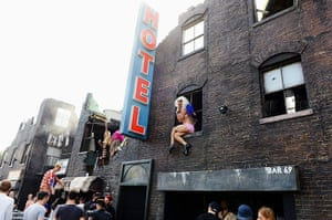 Lovebox day three: NYC Downlow, a fun filled full size tenement, at Lovebox festival