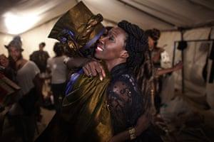 Dakar fashion week: Designer and organiser of Dakar Fashion Week Adama Paris
