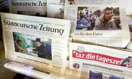 German newspapers react to Greek election