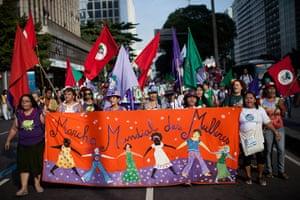 UN Rio+20: Women's World March