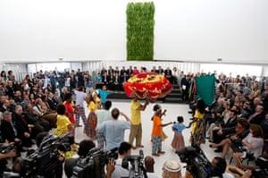 UN Rio+20: Rio+20 - Dilma Rousseff Inaugurates Pavillon Brazil
