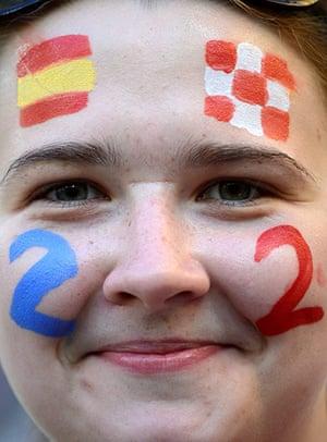 Group C final games: Croatia vs Spain