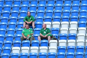 Group C final games: the Irish fans will be hoping for a better showing from their players