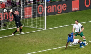 spain game: Mario Balotelli makes it two on the night