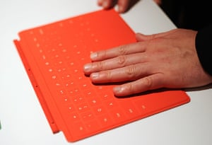 Microsoft Surface tablet: The Microsoft tablet Surface touch cover