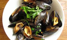 Prawn Cocktail Years recipe moules marinieres