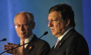 Jose Manuel Barroso at the G20 summit in Mexico