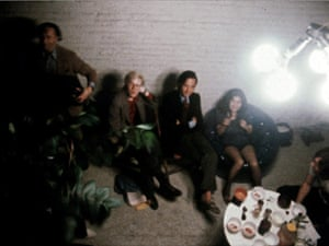 Yoko Ono archive photos: Yoko Ono with Andy Warhol