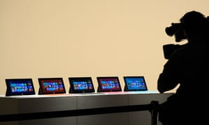 Microsoft Surface Tablet Launch
