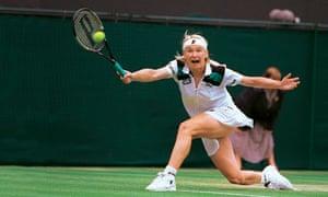 Chokers in sport: Jana Novotna