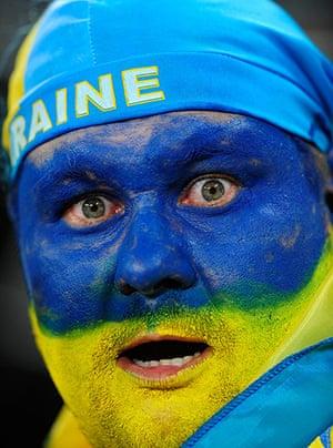 Group D: Ukraine fan