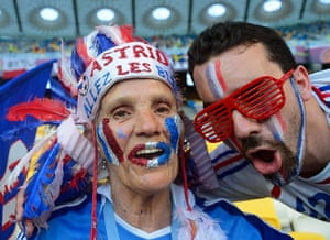 Group D: French fans