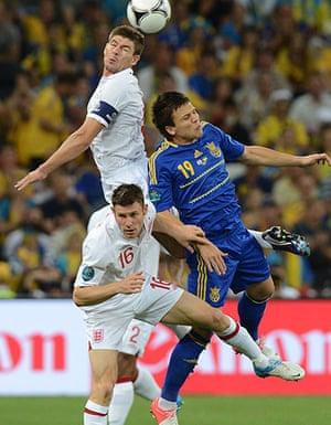 Group D: English midfielder Steven Gerrard