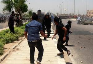 Mubarak Verdict Updated: Riot police and protesters clash after the Mubarak verdict