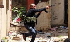 Lebanese gunman