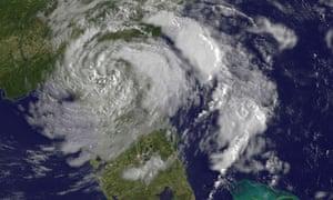 nasa florida hurricane