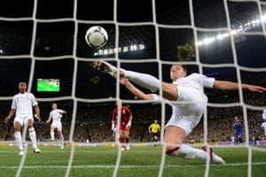 group d4: John Terry clears off the line