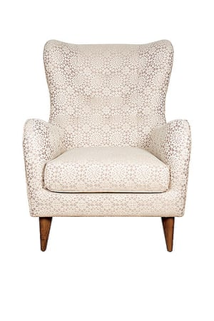 Homes Feature: 'Elegant' armchair