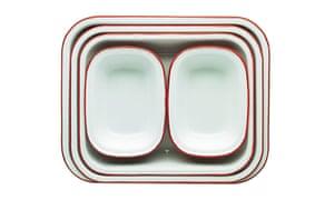 Homes Feature: Enamel bake set