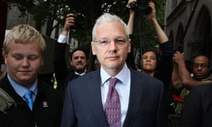 FILE - Julian Assange Loses His Extradition Hearing