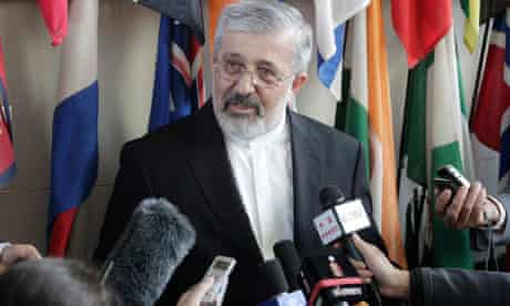 Iran's chief nuclear negotiator Ali Asghar Soltanieh