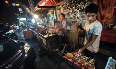 indonesia street food