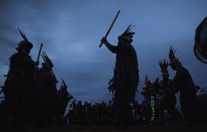 summer solstice: Morris dancers