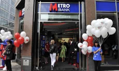 Metro Bank launch Holborn