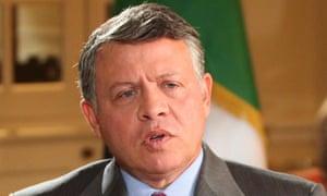 Jordan King Abdullah II says Syrian President Bashar al-Assad should step down