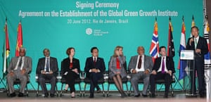 rio+20:  Global Green Growth Institute