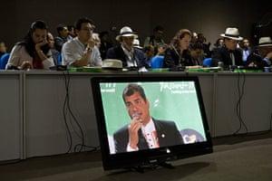 rio+20: Ecuador's President Rafael Correa