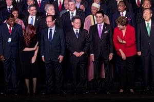 rio+20: Argentina's President Cristina Fernandez