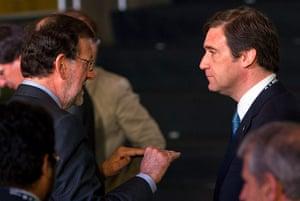 rio+20: Portugal Pedro Passos Coelho and Spain Mariano Rajoy