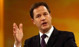 Clegg warning on environment