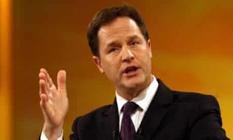 Clegg warning on environment