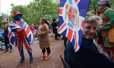 Jubilee spectators