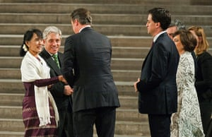 Aung San Suu Kyi Uk visit: Aung San Suu Kyi visit Houses of Parliament